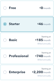 HubSpot Marketing Hub Pricing
