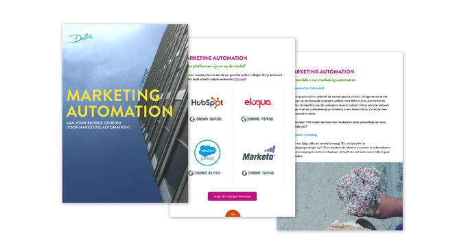 "Download het eBook ""Marketing Automation"""