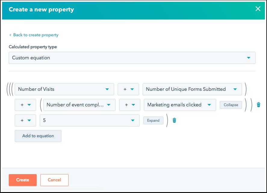 HubSpot Calculated Properties