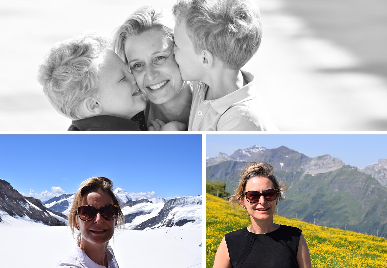 Isabel Artoos op vakantie