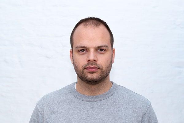 Maarten Renders Headshot