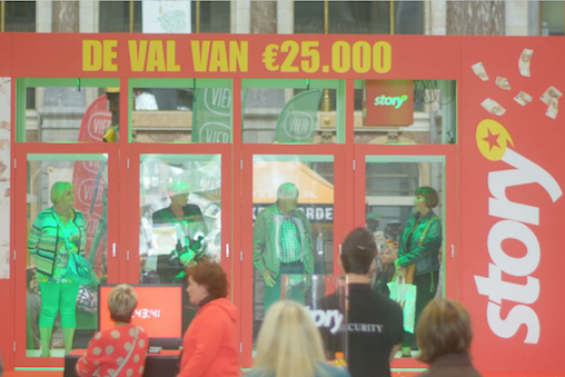 Case Story Val van 25 duizend euro